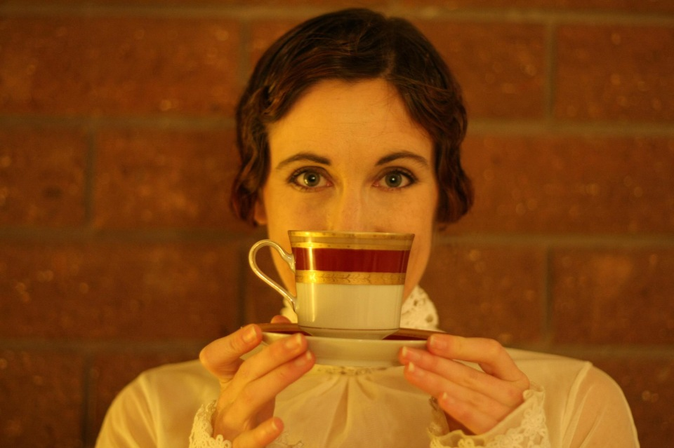 chá e mulher